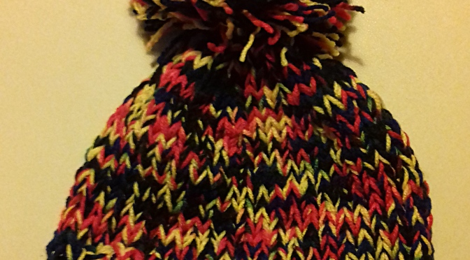 DIY – Bonnet à (gros) pompon