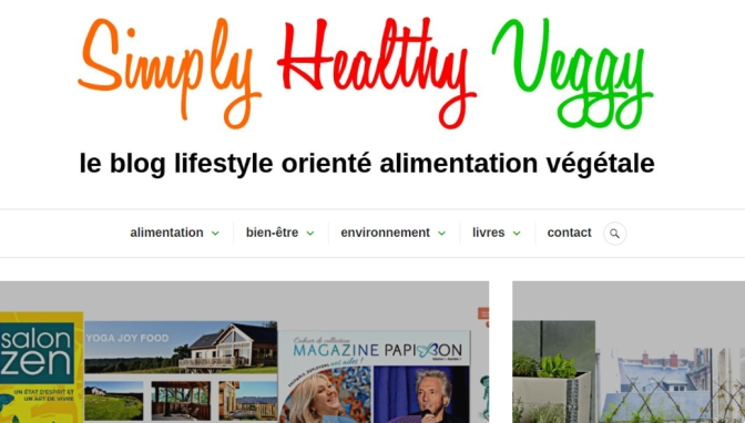 Lancement du blog Simply Healthy Veggy