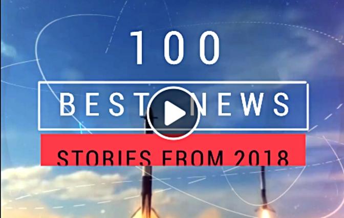 Les 100 meilleures découvertes scientifiques de 2018, par Hashem Al-Ghaili