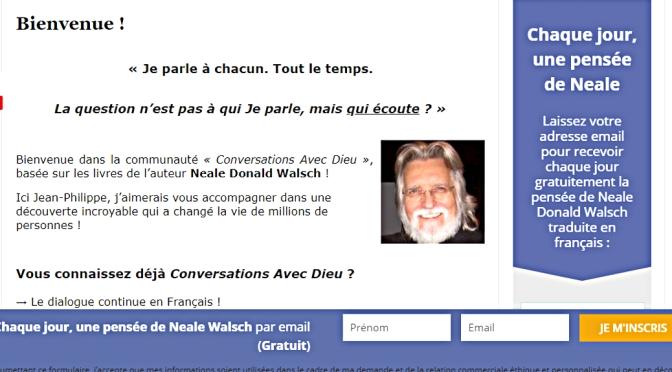 Les pensées de Neale Donald Walsch
